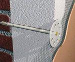 Сетка под штукатурку на пенопласт – выбор фасадной смеси, технология оштукатуривания экструдированного ППС клеем и цементным раствором с армированием
